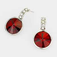 Genuine Austrian Crystal Drop Earrings