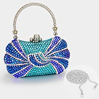 Crystal pave evening clutch bag _ reduced price