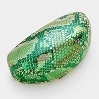 Snakeskin Pattern Sunglasses Case