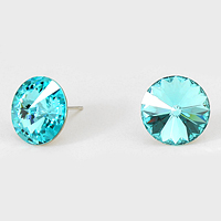 15 mm Genuine Austrian Crystal Stud Earrings