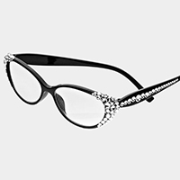 Side Crystal Reading Glasses