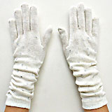 Studded Acrylic Arm Warmer Gloves
