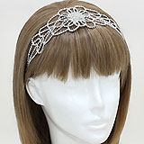 Crystal Rhinestone Flower Stretch Headband