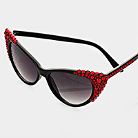 Bubbly Cat Eye UV Protection Sunglasses