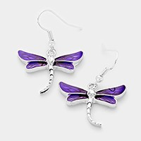 Lacquered Dragonfly Earrings