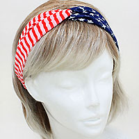 USA Chiffon Stretch Headband
