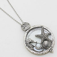 Sea Charm Magnifying Glass Necklace