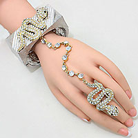 Amazon Python Hand Chain Bracelet