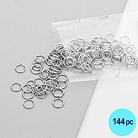 8mm Gauge Open Jump Rings
