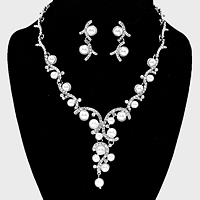 Pearl Vine Bridal Necklace