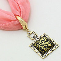 Leopard Scarf Ring