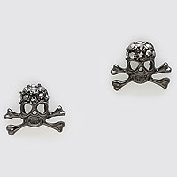 Pirate Skull Stud Earrings