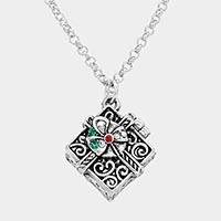 Christmas Present Pendant Necklace
