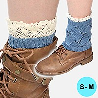 Cutie Pie Acrylic Leg Warmer/ Boot Topper