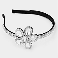 Glass Daisy Pave Headband