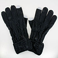 Rippled Acrylic Wool Gloves