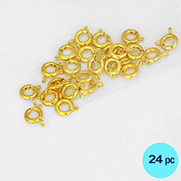Necklace Spring Ring Clasp Connector
