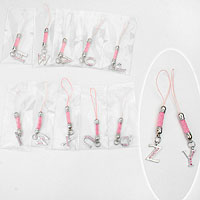 Assorted Letters Cell Phone Charm Straps