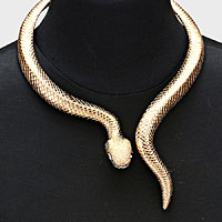 Python Wrap Collar Necklace