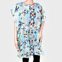 Butterfly Polyester Poncho