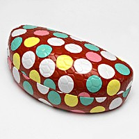 Polka Dot Patterned  Eyewear Case