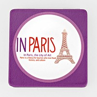 Paris Eiffel Tower Compact Mirror