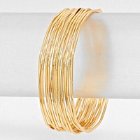Multi-Layered Metal Bracelet