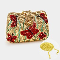 Crystal Pave Butterfly Evening Clutch Bag_REDUCED PRICE