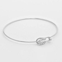 Safety Pin Hook Bracelet