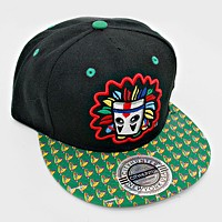 Indian mask Snapback Cap Hat