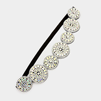 Crystal embellished stretch headband