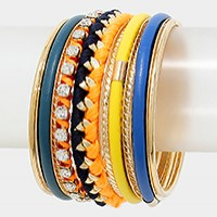 Multi-Layered Bangle Bracelet
