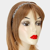 Crystal Metal Mesh Stretch Headband
