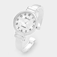 Hinged Cuff Metal Watch