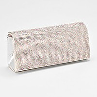 Shimmery Evening Clutch Bag