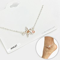 Bead Starfish Anklet