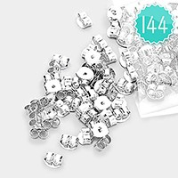144 PCS - metal earring backs