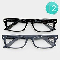 12 Pairs - Assorted Reading Glasses