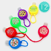 12 PCS - Portable hand sanitizers