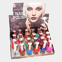 24 PCS - Nail polishes