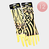12 Pairs - Tattoo arm warmers