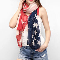 American flag sleeveless vest
