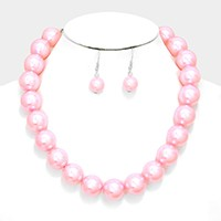 Pearl Collar Bib Necklace