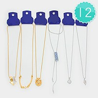 12 PCS - Mixed necklaces