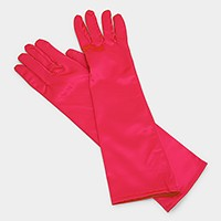 Dressy satin gloves