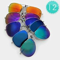 12 Pairs - Assorted Sunglasses