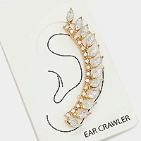 1PC - CRYSTAL LEAF EAR CRAWLER