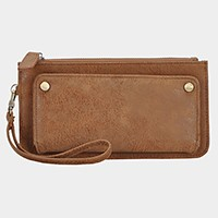 faux leather whistles wallet