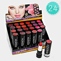24 PCS - lip sparkle lipsticks