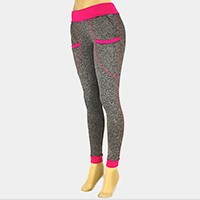 ONE SIZE - NEON SEAMLESS SPORT LEGGINGS
